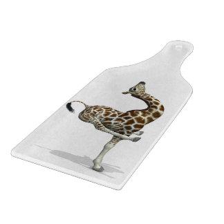 Funny Sporty Giraffe Cutting Board
