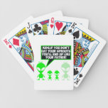 Funny sprouts poker cards