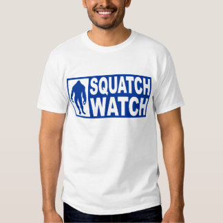 Funny SQUATCH WATCH Gear - Deluxe Finding Bigfoot Tee Shirt