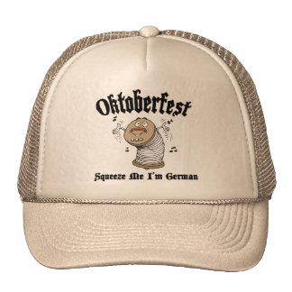 Funny Squeeze Me I'm German Oktoberfest Mesh Hat