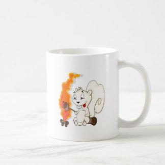 Funny Squirrel Cartoon Coffee Mugs
