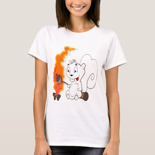Funny Squirrel Cartoon T-Shirt