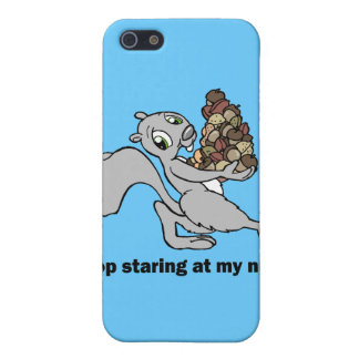 funny squirrel case for iPhone SE/5/5s