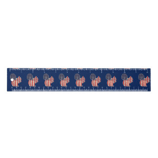 Funny Squirrel Distressed American Flag Patriotic