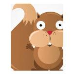 funny Squirrel Letterhead