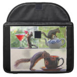 Funny Squirrel Picture Collage Sleeves For MacBook Pro