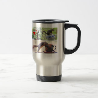 Funny Squirrel Picture Collage 15 Oz Stainless Steel Travel Mug