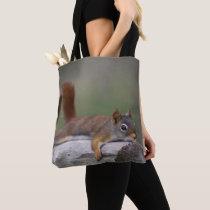 Funny Squirrel Tote Bag