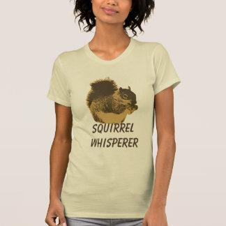 Funny Squirrel Whisperer T-Shirt