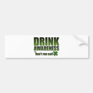 Funny St Paddys day customisable Bumper Sticker