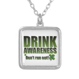 Funny St Paddys day customisable Necklace