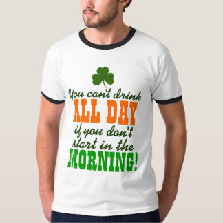 Funny St. Paddy's Day Drinking T-Shirt
