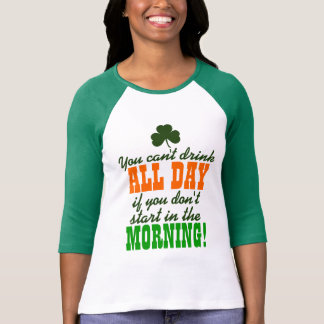 Funny St. Paddy's Day Drinking Tee Shirt