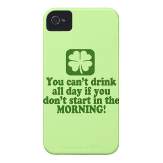 Funny St Paddys Drinking Humor iPhone 4 Cover
