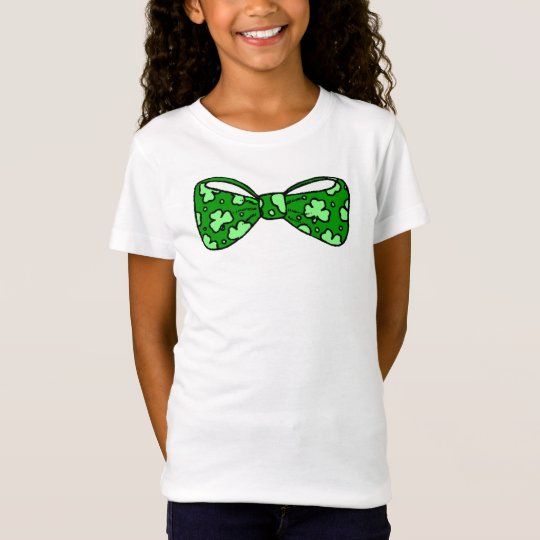 Funny St. Patrick's Day Bow Tie Shirt