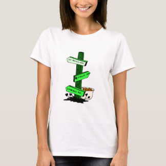 Funny St. Patrick's Day Sign Post Shirt