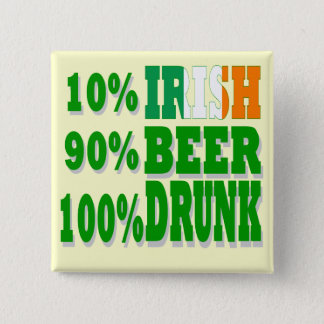 Funny  St Patrick's day Button