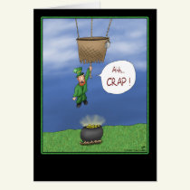 Funny St. Patrick's Day Cards: Almost Got it Card