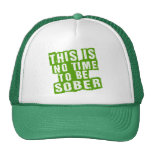 Funny St Patricks Day Drinking Humor Mesh Hat