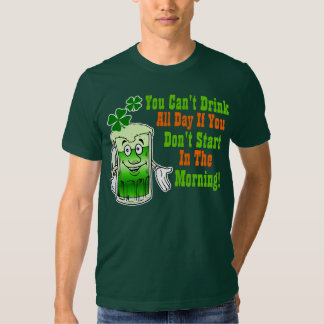 Funny St Patricks Day Drinking Humor Shirt