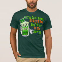 Funny St Patricks Day Drinking Humor T-Shirt