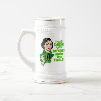 Funny St. Patrick's Day Drinking Mugs