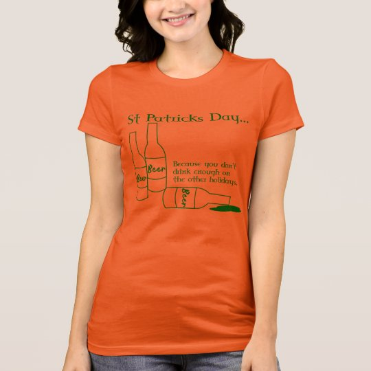 Funny St Patrick's Day Drinking Shirt