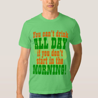 Funny St. Patrick's Day Drinking T Shirt