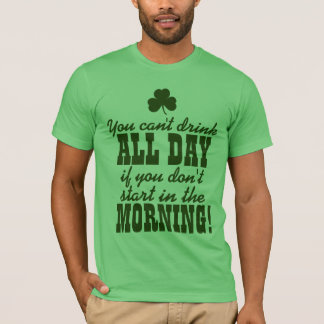 Funny St. Patrick's Day Drinking T-Shirt