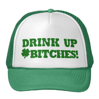 Funny St Patricks Day Drinking Trucker Hat
