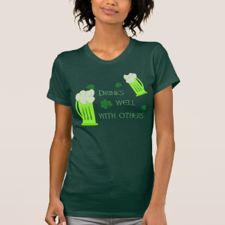 Funny St Patricks Day Drinks Well Shirt