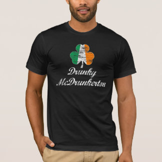 Funny St. Patrick's Day Drunky McDrunkerton Shirt