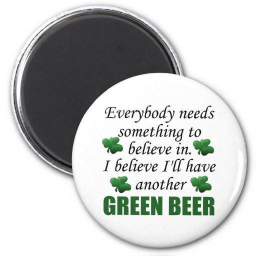 Funny St. Patrick's Day Gift 2 Inch Round Magnet