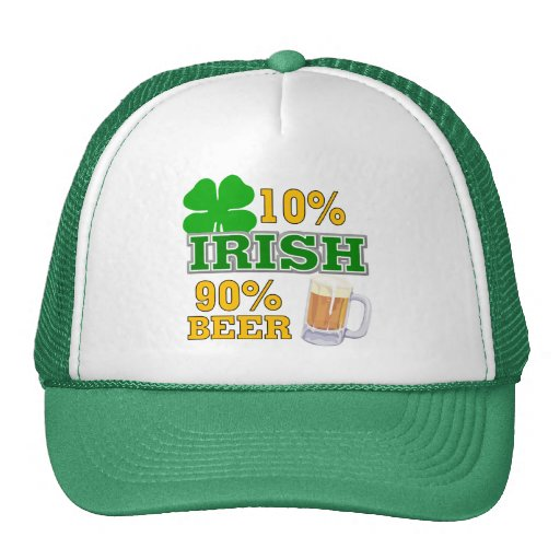 Funny St. Patrick's Day Gift Mesh Hats
