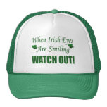 Funny St. Patrick's Day Gift Trucker Hats