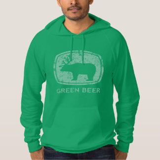Funny St Patrick's Day Green Beer Hoodie