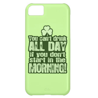Funny St Patrick's Day Irish iPhone 5C Cover