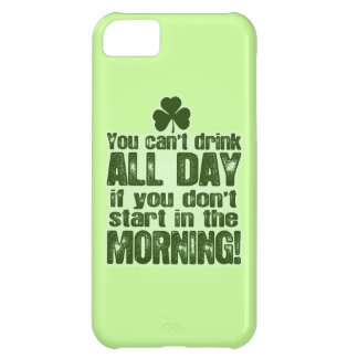 Funny St Patrick's Day Irish Cover For iPhone 5C