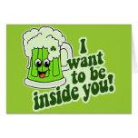 Funny St Patricks Day Irish Greeting Card