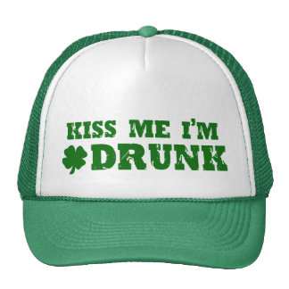 Funny St Patricks Day Irish Trucker Hats
