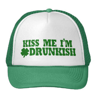 Funny St Patricks Day Irish Mesh Hats