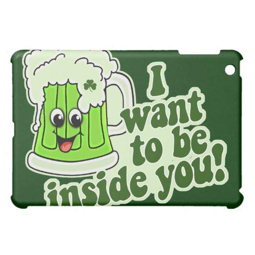 Funny St Patricks Day Irish iPad Mini Cover