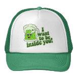 Funny St Patricks Day Irish Mesh Hat