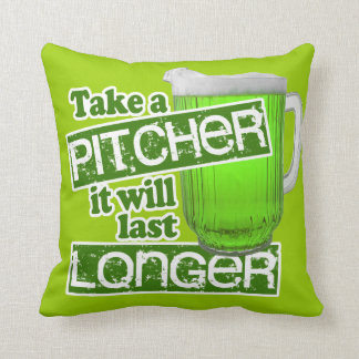 Funny St. Patrick's Day Irish Pillow
