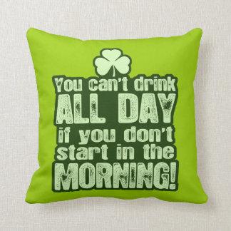 Funny St Patrick's Day Irish Pillows