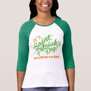 82cdfd1a8 Sober St Patricks Day Clothing | Zazzle
