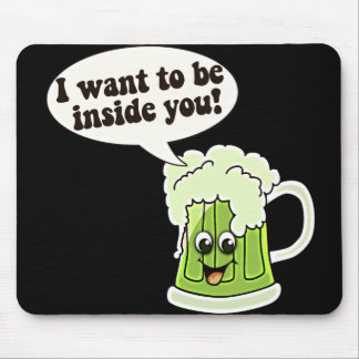 Funny St Patricks Day Mouse Pad