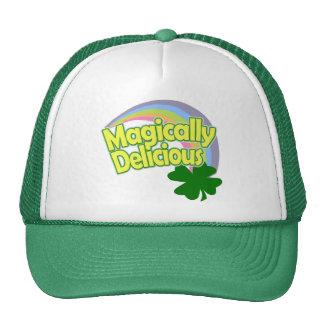 Funny St Patricks Day Rainbow Trucker Hat