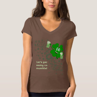 Funny St Patricks Day Shamrock Shirt