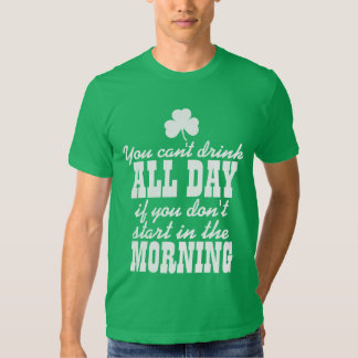 Funny St Patrick's Day Tee Shirt